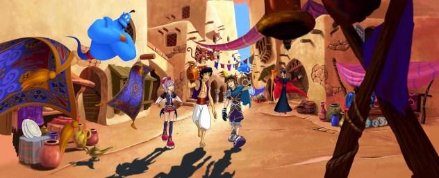 Kingdom Hearts Fragmented Keys art 04