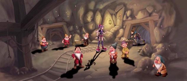 Kingdom Hearts Fragmented Keys art 12