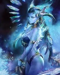 Shiva Mevius FInal Fantasy