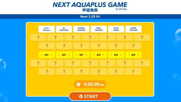 Aquaplus nuevo juego ps vita