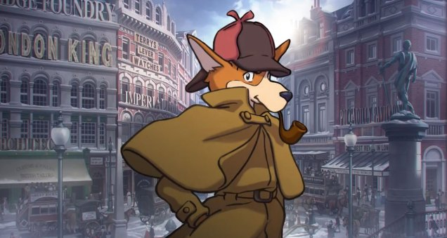 Sherlock Hound Ace Attorney