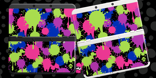 Splatoon covers New 3DS