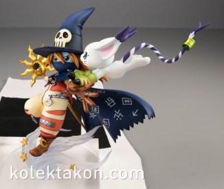Wizardmon Gatomon figura GEM 4