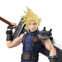 Cloud Strife Super Smash Bros traje 2