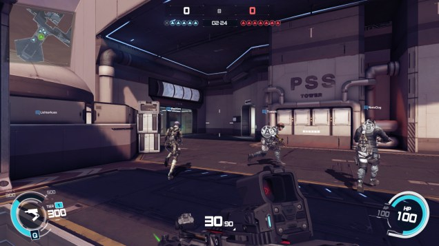 Ghost in the Shell SAC First Assault Online gameplay