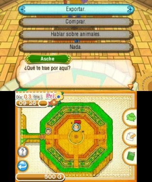 Story of Seasons mercado ambulante