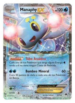 Pokemon TCG Manaphy EX Turbolimite