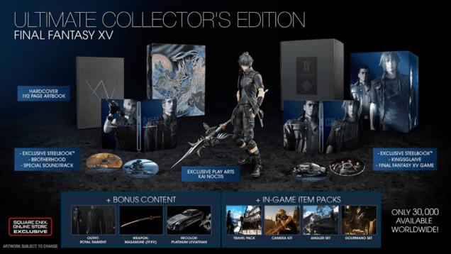 Final Fantasy XV Ultimate Collectors Edition