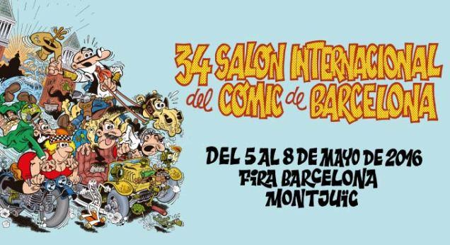 34 salon comic barcelona