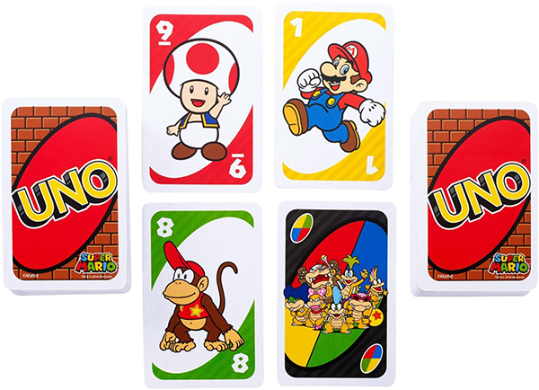 Cartas UNO Super Mario
