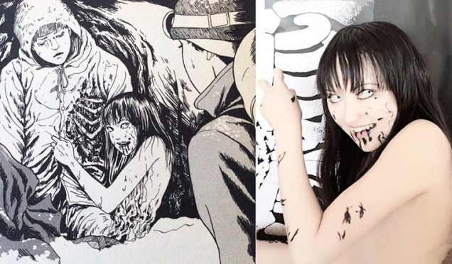 Ikura cosplay Junji Ito 04