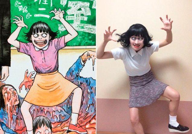 Ikura cosplay Junji Ito 11