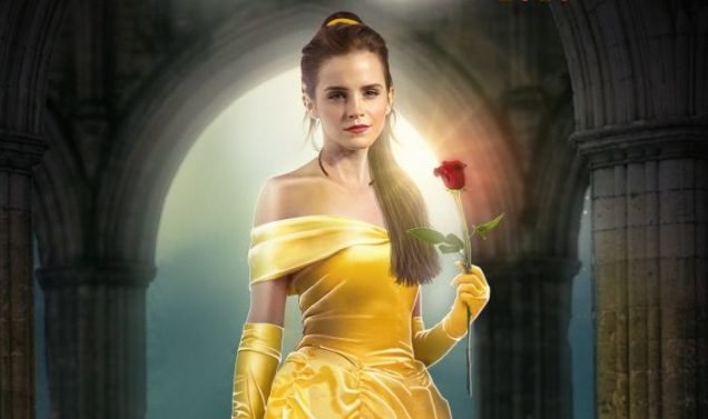 La Bella y la Bestia Emma Watson Traje