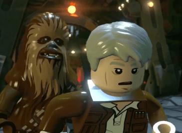 LEGO Star Wars Despertar de la Fuerza cuatro