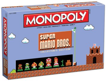 Monopoly Super Mario Bros colleccionista 01