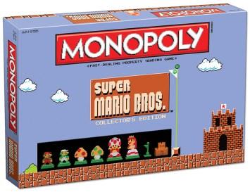 Monopoly Super Mario Bros colleccionista 01