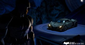 Batman Telltale Batmovil Peque