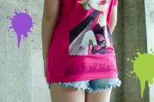 Camiseta Mar Splatoon 2