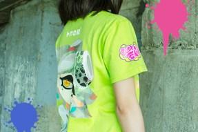 Camiseta Tina Splatoon 2