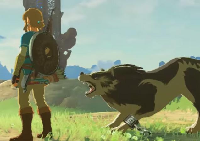 Link-Lobo-Zelda-Breath-of-the-Wild