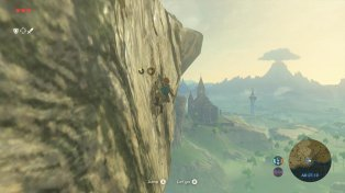 The Legend of Zelda Breath of the Wild gameplay 02