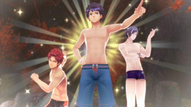 Tokyo Mirage Sessions chicos bañador