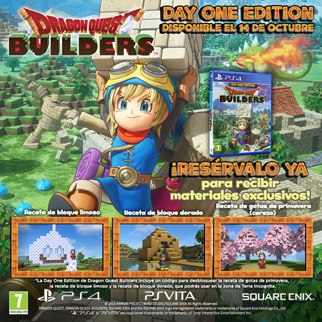 Dragon Quest Builders day one