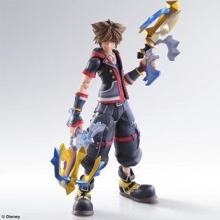 kingdom hearts iii sora play arts kai 2