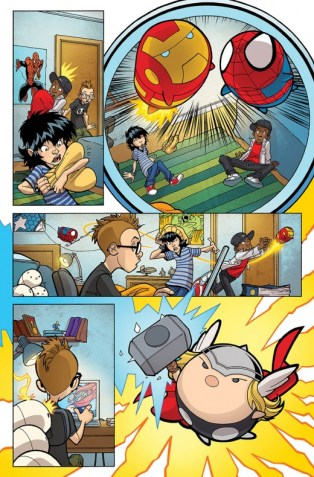 marvel tsum tsum comic 6