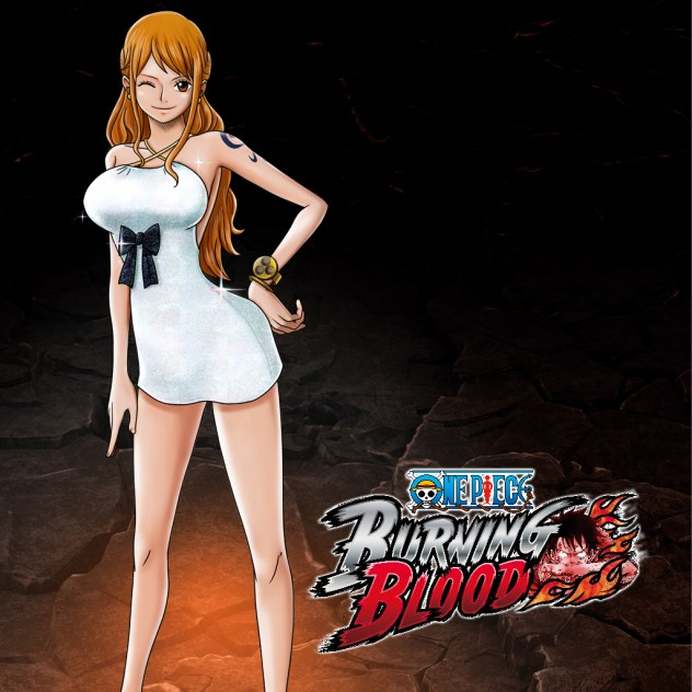 nami gold one piece burning blood