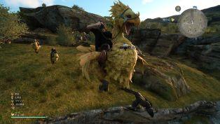 Final Fantasy XV chocobo equipo ataques 22