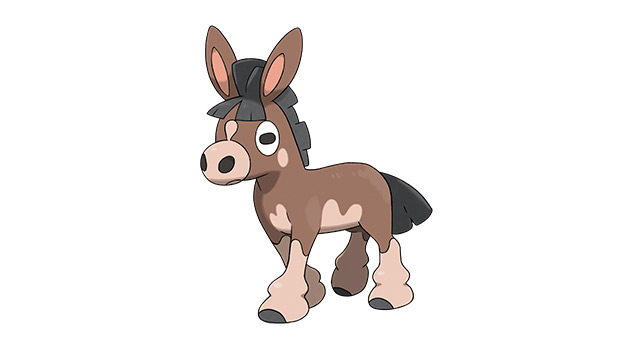 Mudbray Pokemon