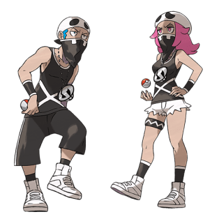 Reclutas Team Skull - Pokémon Sol y Luna