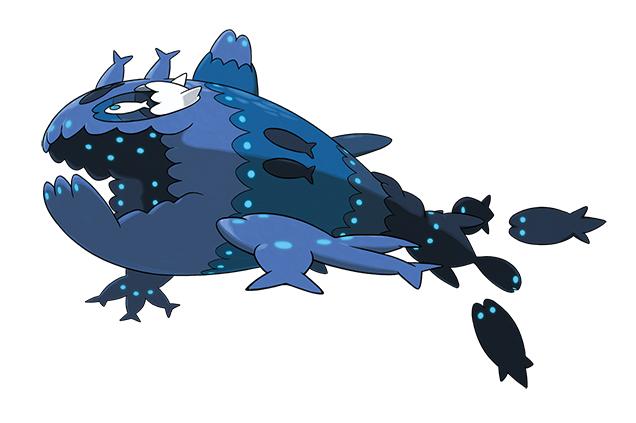 Wishiwashi Forma Banco Pokémon Sol Luna