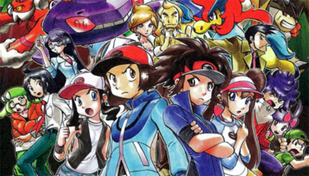 pokemon manga color