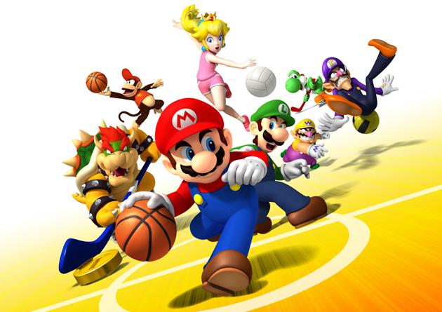 Mario Sports Mix - Arte