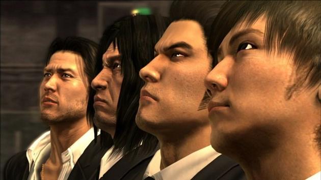 Yakuza 4 Characters