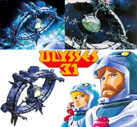 Many concepts he came up with for 'Ulysses 31′ ended up being cut but were later repurposed for Macross 7.