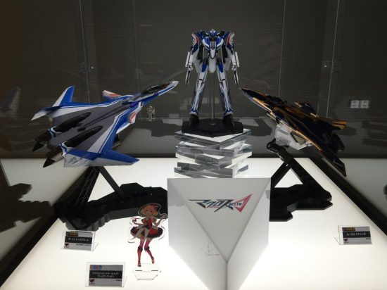 Bandai prototypes were also on display at the screening.