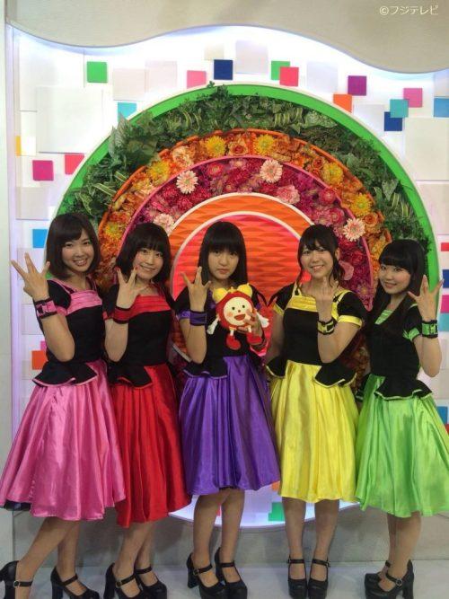 Walkure on Mezamashi TV