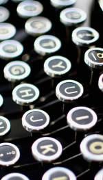 Machine à écrire secrétaire