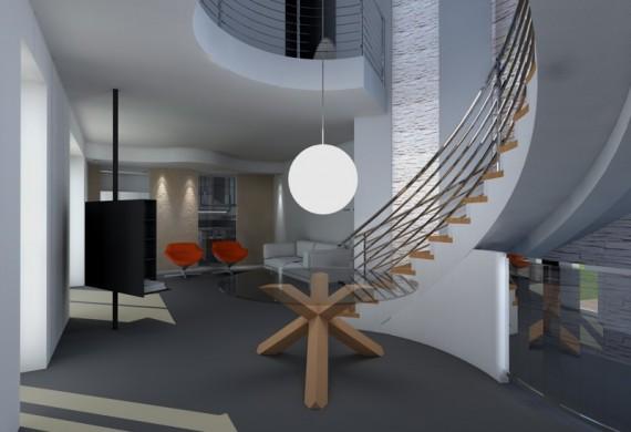 Ristrutturazione completa e progettazione di interni a Pavia
