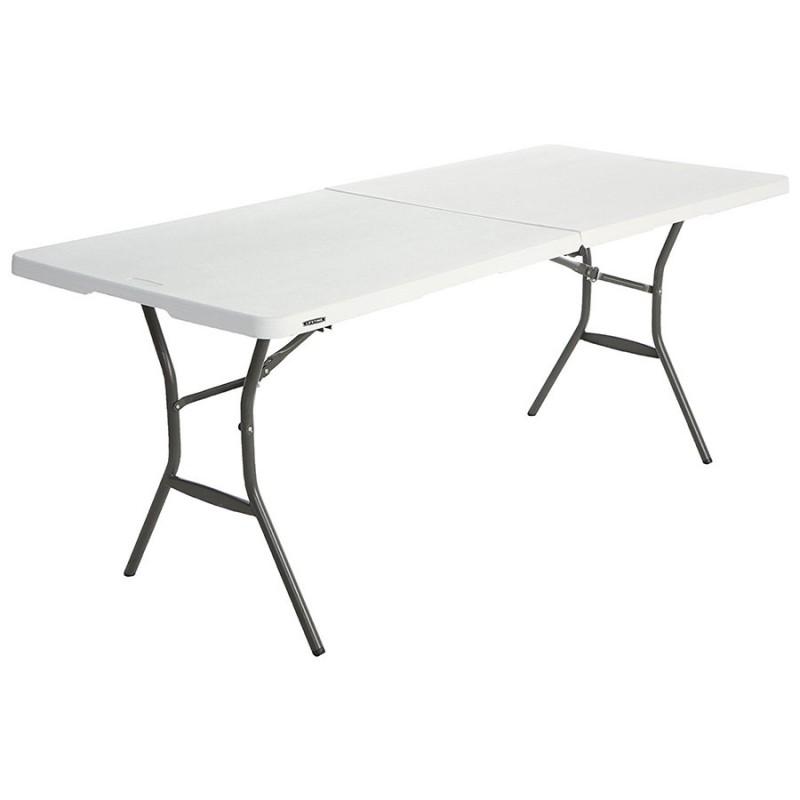table rectangulaire pliante lifetime 8 personnes