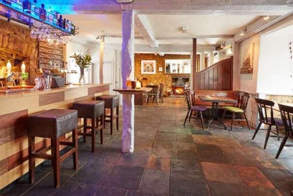 Deddington Arms Hotel Main Bar Oxfordshire