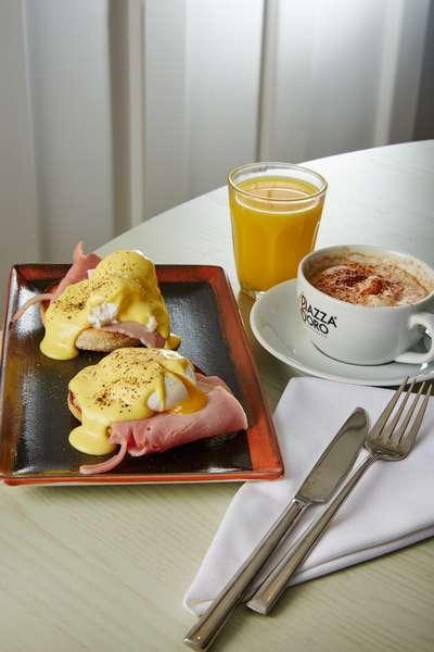 Eggs & Coffee at the Deddington Arms