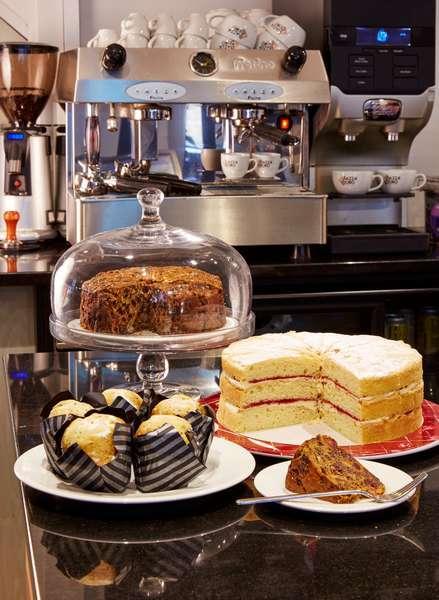 Tea & Cakes Deddington Arms Hotel near Oxford