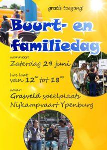 Flyer Buurt- en Familiedag