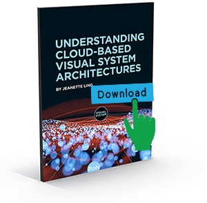 Downloading cloud-based visual system architectures