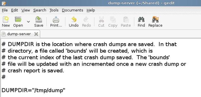 Dumpdir