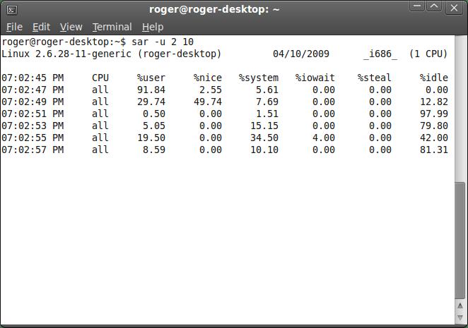 CPU example